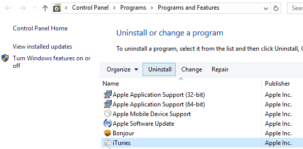 why won't iTunes download on my pc