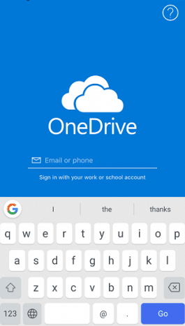 sync iphone photos to onedrive