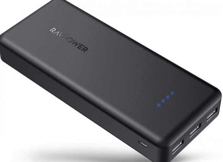 RAVPower Power Bank with 3 External Ports