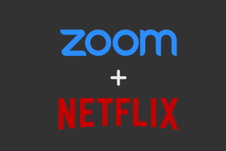 Netflix movies on Zoom