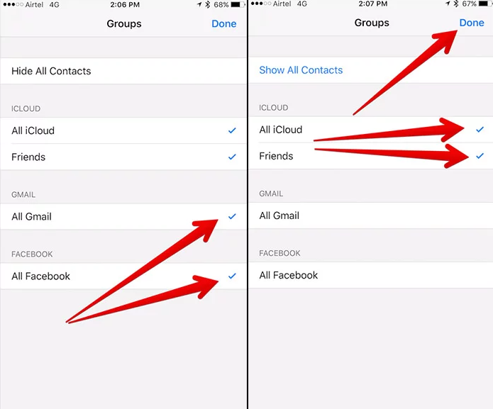 iCloud Contacts Not Syncing
