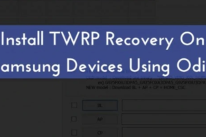 Install TWRP Odin