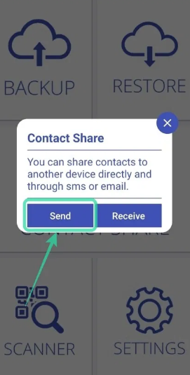 contact share