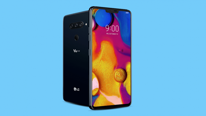 lg v40 android pie