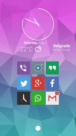 Square icon pack