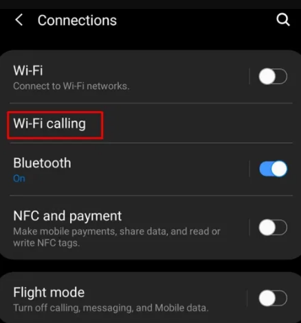wifi calling android 9