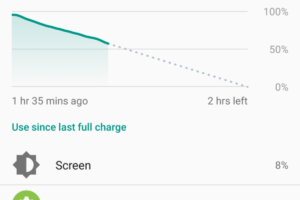 Android 7 Battery drain