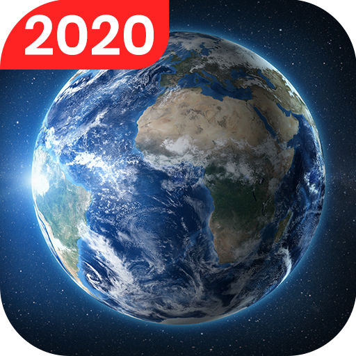 Live Earth Map - Satellite View, World Map 3D