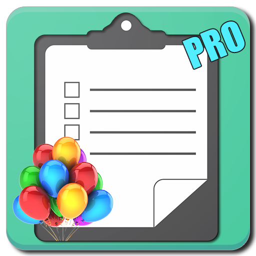 Party Planning Checklist (PRO)