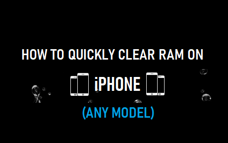 To Clear Ram On iPhone