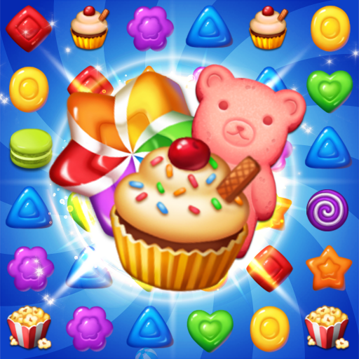 Sweet Candy POP : Free Match 3 Puzzle