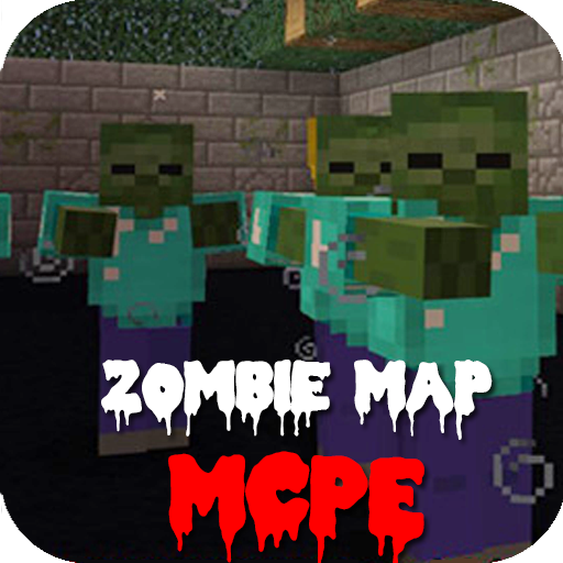 Zombie Arena PVP map for MCPE