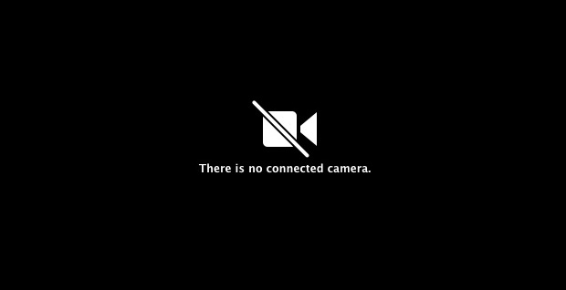 no Connected Camera