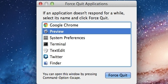 Force Quit On Mac
