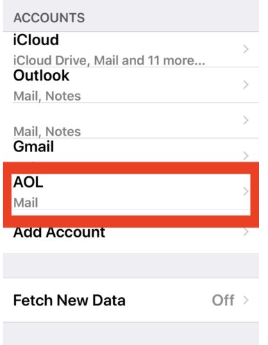 Change Email and Password On iPhone