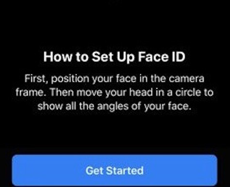 Face ID With Mask