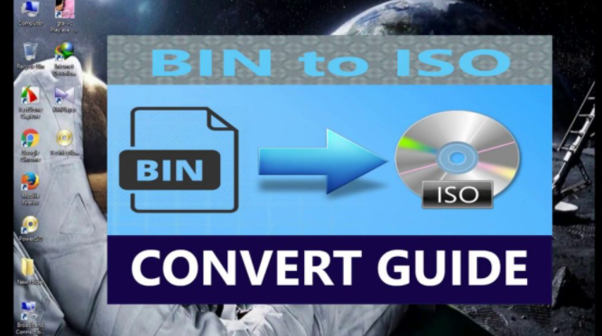 BIN Files To ISO
